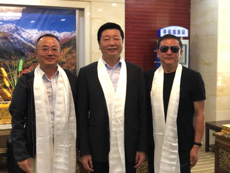 金顶电缆董事长何建军参加成都市援藏工作调研慰问和扶贫济困活动